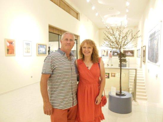 Apollonion Resort & Spa Hotel: art gallery