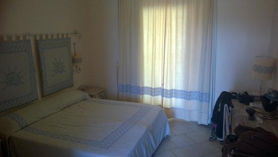 Janna e Sole : La chambre qu'on occupait pendant deux semaines.