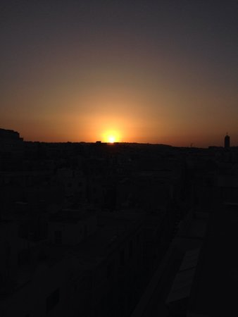 Preluna Hotel & Spa: Sunset from the roof