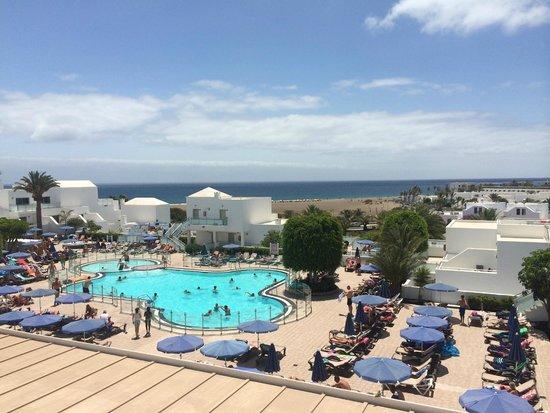 Hotel Lanzarote Village : Pool & Sea View 1413