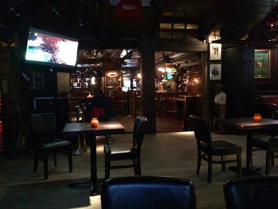 Rosie McGee's Restaurant & Bar : Cosy atmosphere