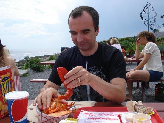 The Lobster Shack at Two Lights : le homard spécialité du maine