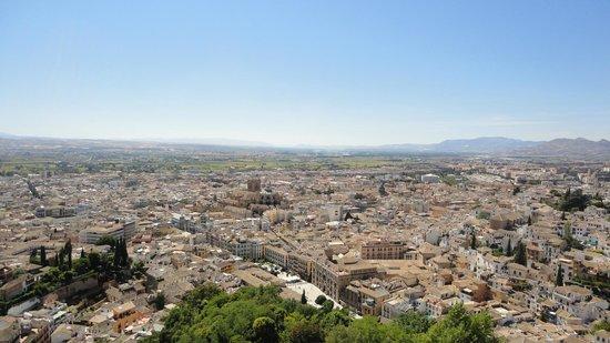 Servigroup Marina Playa: Вид на Гранаду из Альгамбры
