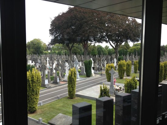 Glasnevin Cemetery Museum: View from inside the museum centre