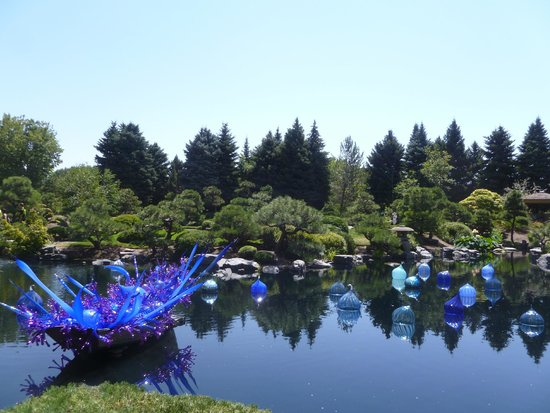 Denver Botanic Gardens: Chihully Exhibit Aug 2014