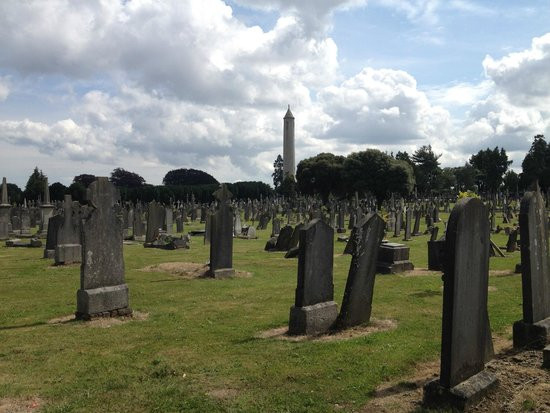 Glasnevin Cemetery Museum: Beautiful grounds!