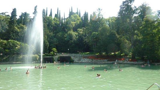 Parco Termale del Garda: Laghetto principale.