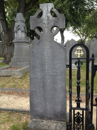 Glasnevin Cemetery Museum: Michael Carey, the first person to be buried at Glasnevin