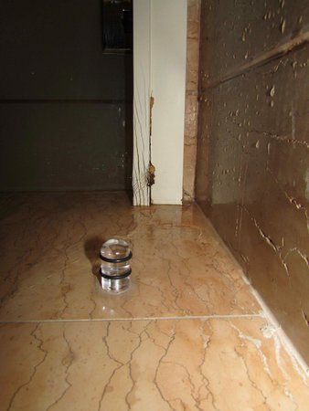 Hilton Florence Metropole : Bathroom floods