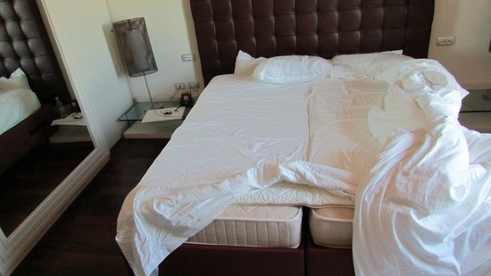 Hilton Florence Metropole : King bed?