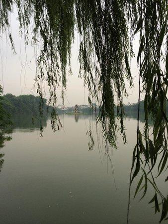 Lake of the Restored Sword (Hoan Kiem Lake) : Serene...