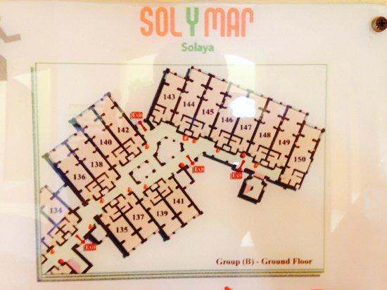 Jaz Solaya : Sol y Mar Solaya - floorplan