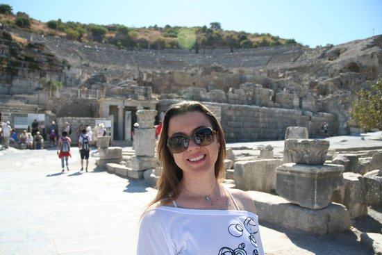 Ephesus Theatre : Impressionante.