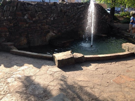 Hot Springs National Park: Natural springs throughout downtown