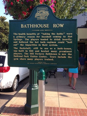 Hot Springs National Park: Bathhouse Rowe, for us, is like a mini New Orleans. Lots of neat little shops and attractions. T