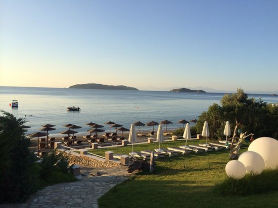 Kassandra Bay Resort & SPA: View from the hotel restaurant