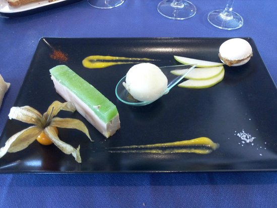 Mer et Foret Hotel : Foie gras