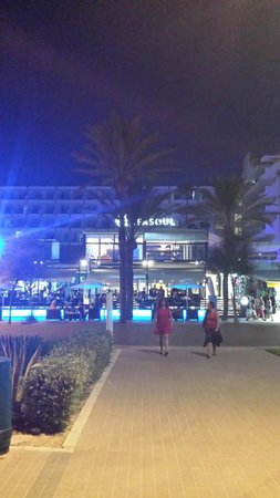 Iberostar Bahía de Palma: vue hôtel