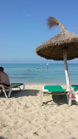 Iberostar Bahía de Palma: plage