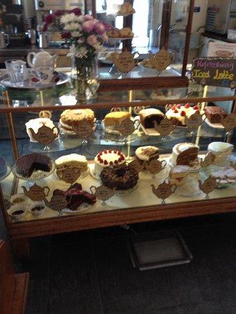 Pettigrew Tea Rooms: The selection of cakes!