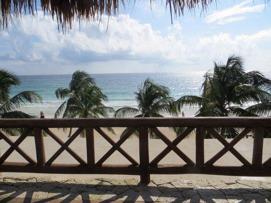 Las Ranitas Eco-boutique Hotel: View from the balcony