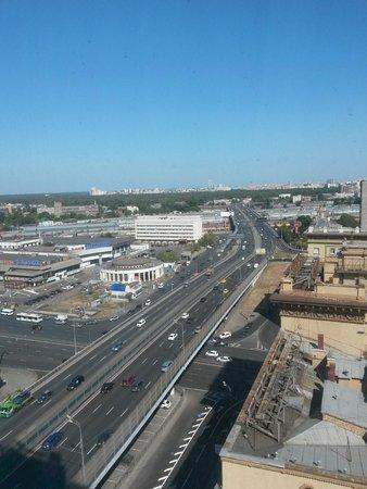 Holiday Inn Moscow Suschevsky: вид