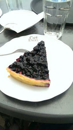 Cafe Engel : Blueberry tarte - very good!