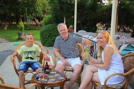 Yakamoz Hotel: Relaxing before dinner