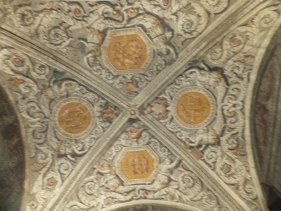 Musée Dauphinois : Потолок в часовне