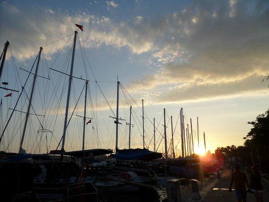Port Bodrum Yalikavak: tramonto 2