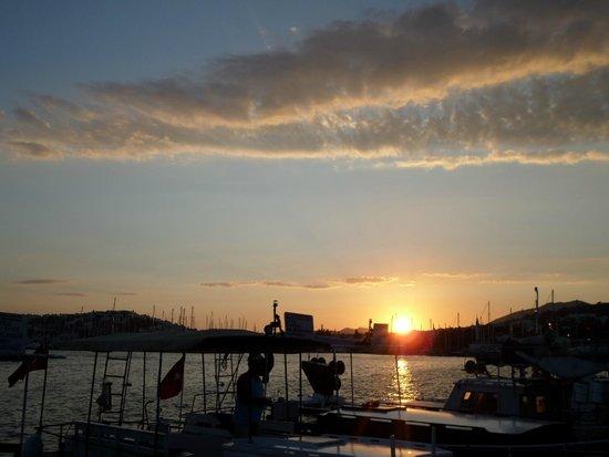 Port Bodrum Yalikavak: tramonto