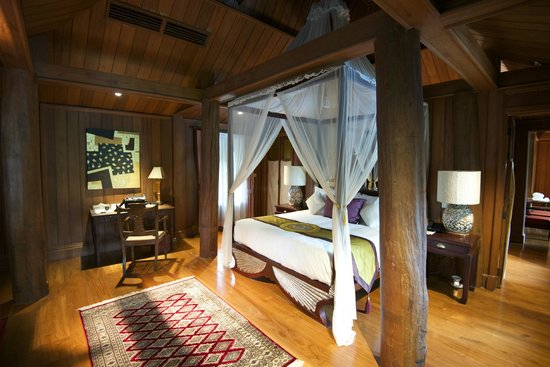 The Dhara Dhevi Chiang Mai : The bedroom (2nd floor)