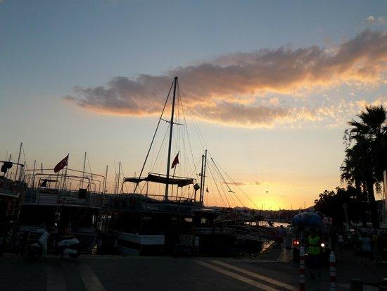 Port Bodrum Yalikavak: tramonto 3