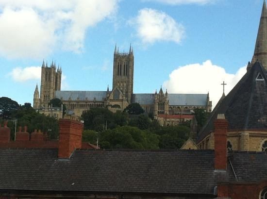 Premier Inn Lincoln City Centre Hotel: view from room 338