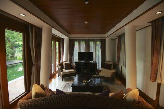 The Dhara Dhevi Chiang Mai : The living room