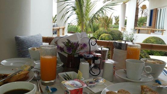 Hotel Paracas, a Luxury Collection Resort: ¡Desayuno en terraza!