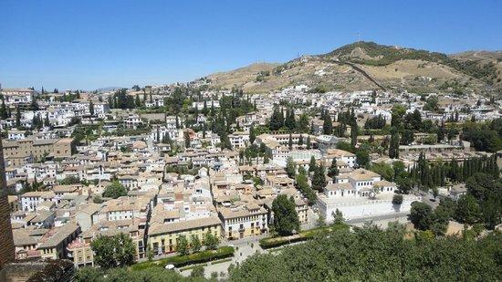 Museo de La Alhambra: Вид из Альгамбры