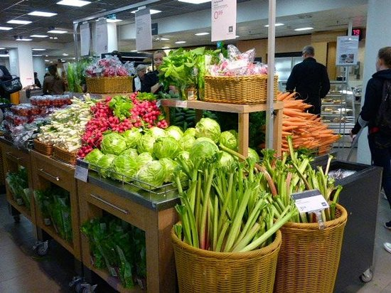Stockmann's Department Store : produce at Stockmann's