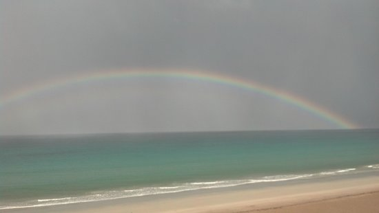 Vistana Beach Club: got to see a rainbow