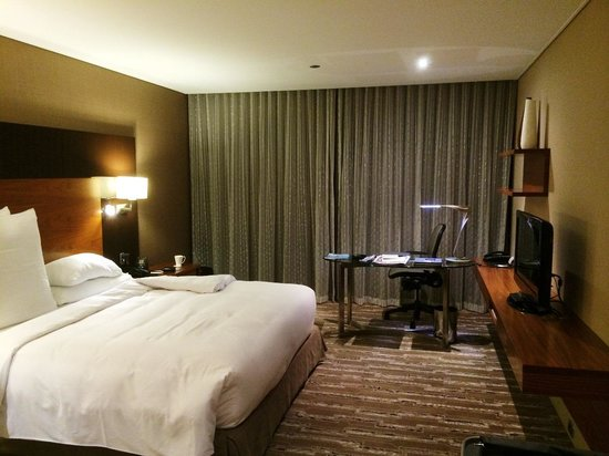 Hilton Brisbane: Bedroom