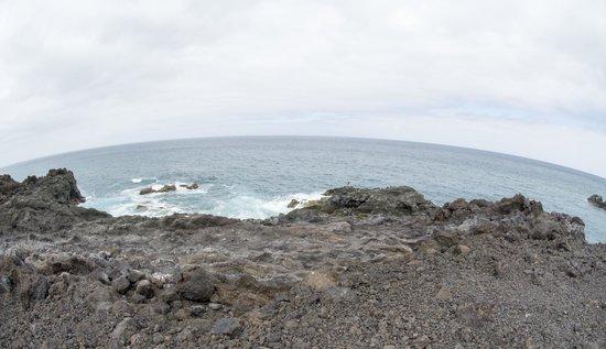 Los Hervideros : Where the lava met the Ocean
