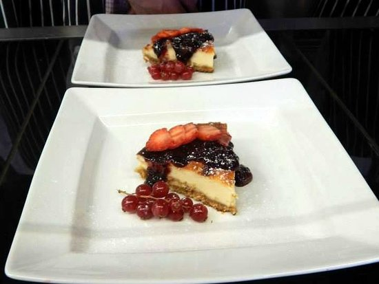 Engine Shed: Cheesecake