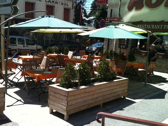La Fromagerie : La terrasse