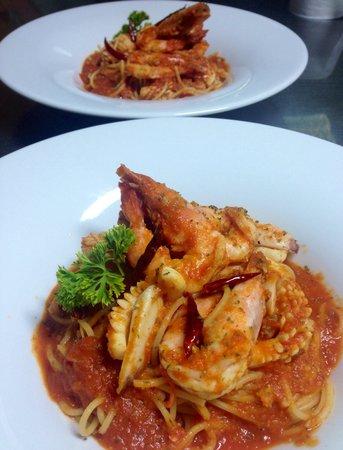 Ciao Koh Chang: Spaghetti del pescatore.!!