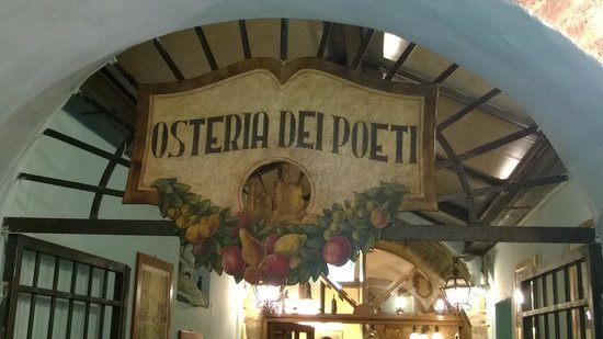 Osteria dei Poeti: ...... come una poesia !!!