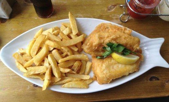 Harbour Lights Restaurant : Large Cod & Chips