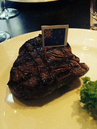 Steakhouse The Golden Bull: New Zealand Hereford 200gr