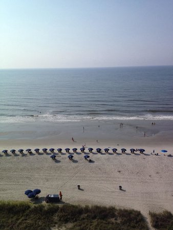 Ocean Drive Beach and Golf Resort: View from 12th floor balcony