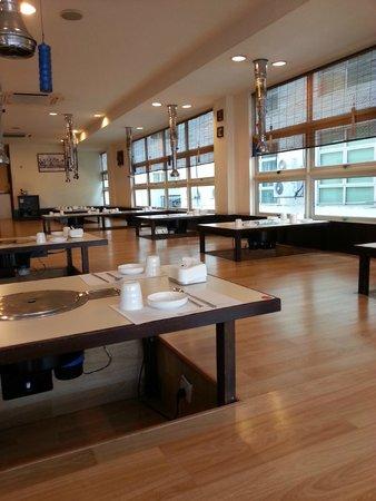 Daorae Kepong Korean Restaurant: Cozy atmosphere