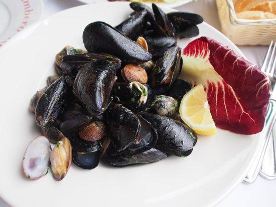 Ristorante Il Gambero Rosso: mussels and clam